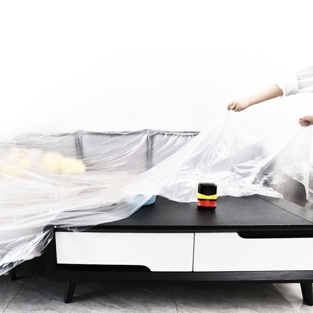 LARGE POLYTHENE DUST SHEET COVER DIY